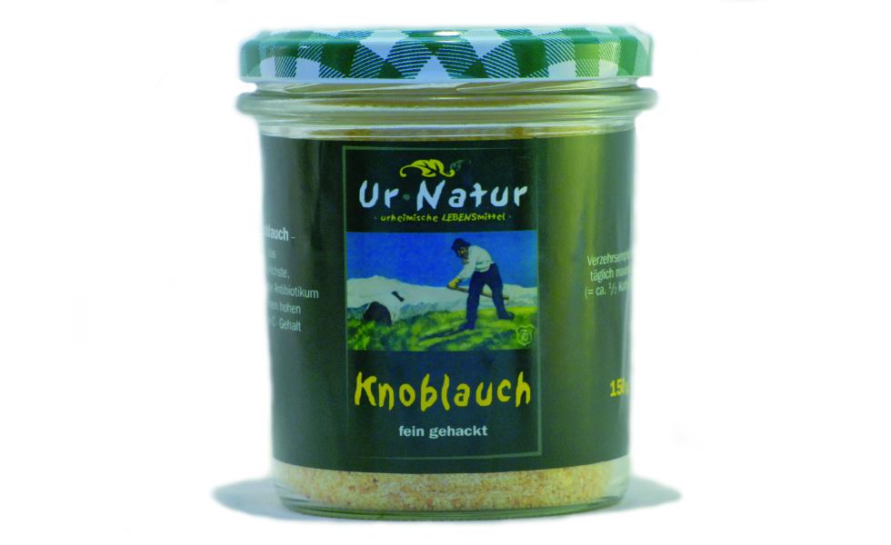 Das Gewürz für jede Küche mit den guten Eigenschaften des natürlichen Knoblauch